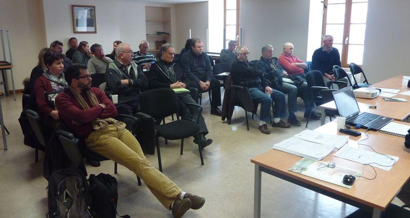 Une vingtaine d'élus présents à Pontaumur
